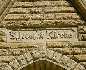 St Joseph's Church,  rural Kansas