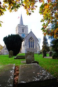 St Mary's Anglican Church in Chesham England.  This town is where my Grover ancestors came from.
